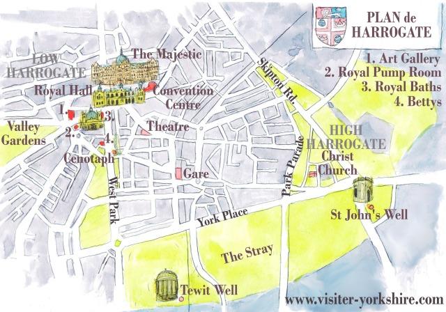 Plan de Harrogate
